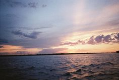 Sunset over Okoboji