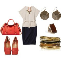 """""""plus size office look"""" by kristie-payne on Polyvore"""