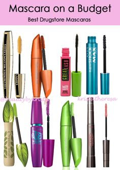 The Best Drugstore Curling Mascara | Drugstore mascara and Mascaras