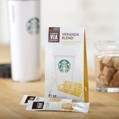 Starbucks VIA Veranda Blend.... love this on the go