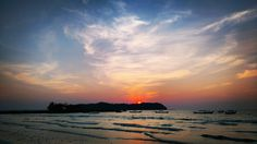 Sunset on #ngapali #beach