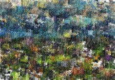 Studio Artist - Factory Settings - Abstract Image Render - GradientGrid
