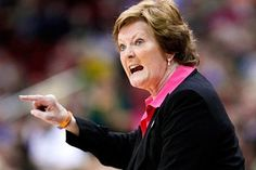 Watching Pat Summitt coach her final womens basketball game, in wonderful Nashville, TN 2012