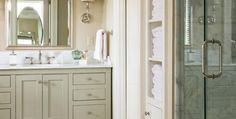 At Home in Arkansas | Historically Modern Master Bath