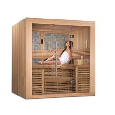 Golden Designs 4-6 Person Ceramic FAR infrared Sauna