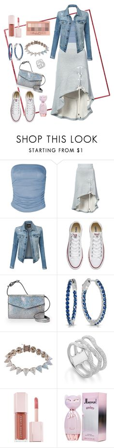 """""""Daily Ootd 🦋"""" by babykiya786 ❤ liked on Polyvore featuring Jonathan Simkhai, LE3NO, Converse, Street Level, Eddie Borgo, Monica Vinader, Puma and Maybelline"""