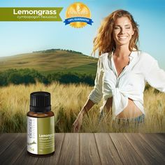 Purify the air while your get the natural benefits of aromatherapy Lemongrass Oil, 100 Pure Essential Oils, Lemon Grass, Aromatherapy, The 100, Pure Products, Aroma Therapy, Lemon Balm