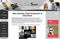 http://www.identity-theft-scout.com/ is about how to protect your family and business from #IdentityTheft