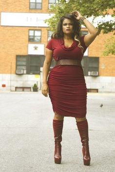 Qristyl Frazier Designs for the curvy tall girl