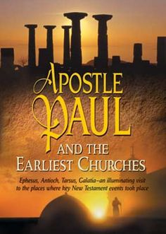 Christian Video Review: Apostle Paul and the Earliest Churches This DVD is like a video tour of the archeological places that Paul went to, starting just after he was converted until his death. It