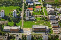 Univerzitní kampus ve Čtyřech Dvorech University Of South, Mansions, House Styles, Bohemia, Manor Houses, Villas, Mansion, Palaces, Mansion Houses