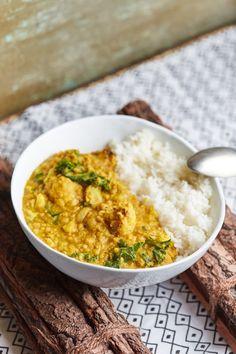 Sült karfiolos indiai lencse curry | Street Kitchen Vegetable Recipes, Vegetarian Recipes, Cooking Recipes, Healthy Recipes, Good Food, Yummy Food, Indian Food Recipes, Ethnic Recipes, Quick Meals