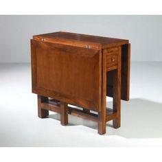 Mesa de comedor plegable Nuevo Hogar (80-135) x (35-80) x 76 cm