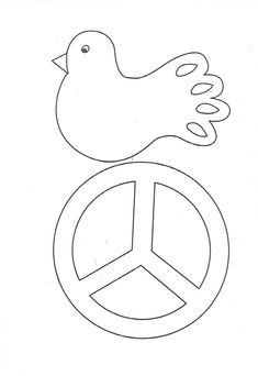 Peace Crafts, 28th October, Autumn Art, Pre School, Handicraft, Worksheets, Crafts For Kids, Recycling, Templates