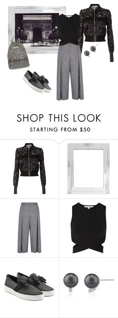 """Lace jacket!!!!"" by bv-b ❤ liked on Polyvore featuring Givenchy, Pottery Barn, Karen Millen, Jonathan Simkhai, Michael Kors and River Island"