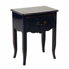 Barbour 1 Drawer Beside Table One Allium Way Colour: Royal Blue Source by WayfairUK Cube Side Table, Round Side Table, 3 Drawer Bedside Table, Oak Beds, Bleu Indigo, Style Louis Xv, Homestead Living, Dcor Design, Kare Design
