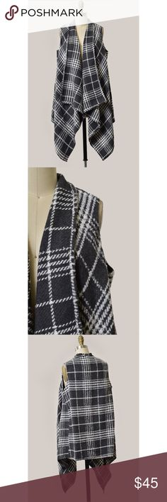 Plaid Vest Brand new! Super cute! 15% off of bundles! FEEL LIKE MAKING AN OFFER? Please do it through the make an offer feature as I will no longer negotiate prices in the comments section. PRICE IS FINAL ON ITEMS $15 or less unless bundled. Hannah Beury Jackets & Coats Vests