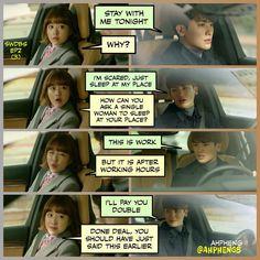 Hyung sik park bo young strong woman do bong soon drama funny memes ❤❤
