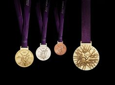 2012 Olympic medals http://www.nbcolympics.com/photos/2012/london-olympic-medals.html (Photo: LOCOG / Getty Images)