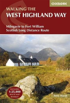 Guidebook to walking the West Highland Way National Trail, a 95-mile Scottish long-distance route from Milngavie near Glasgow to Fort William, passing Loch Lomond and crossing Rannoch Moor. Suggested itineraries over 6 to 9 days. Includes accommodation guide and pull-out 1:25K OS map booklet.