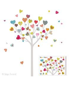 Stickers L'arbre à Coeurs