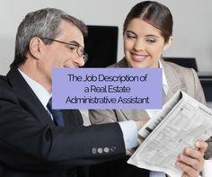 A Real Estate AssistantS Job Description  Learn The Duties Of A