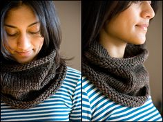 Dolores Park Cowl -- I've already made a few. They're easy, comfy, and perfect for when you don't want to hassle with a scarf.  I use Baby Alpaca or Misti Alpaca...  love this.