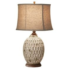 Found it at Wayfair - Feiss Antica Ceramica 1 Light Table Lamp Tiffany Style Table Lamps, Table Lamps For Bedroom, Antique Tiles, Lamps For Sale, Rustic Lamps, Beautiful Interior Design, Ceramic Table Lamps, Cool Floor Lamps, My Living Room