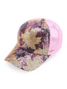 1c9c59e8d To find out about the Sequin Embellished Net Baseball Cap at SHEIN, part of  our latest Hats & Gloves ready to shop online today!