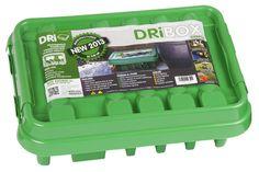 Weatherproof Green Medium 285 II Dribox for Outdoor/Garden Cables/Extensions