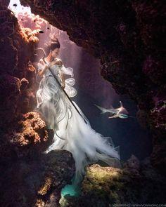 Un nouveau projet étonnant du photographeBenjamin Von Wong, dont nous avions déjà parlé avec ses incroyablesportraits surréalistes en pleine tempête.