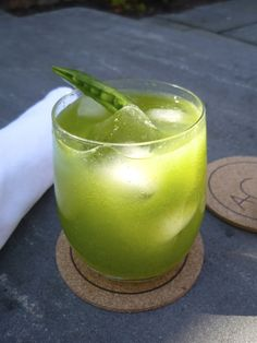 A Sugar Snap Pea Cocktail is a Refreshing Conversation Starter --> http://www.hgtvgardens.com/recipes/a-sugar-snap-pea-cocktail?soc=pinterest