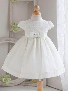 White Dress Baby Girl Design