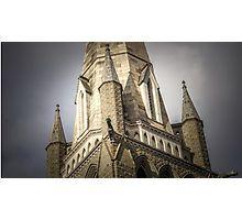 Gargoyles and the Steeple - Bendigo, Victoria Photographic Print