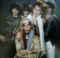 This is from when Hanoi Rocks we're becoming Hanoi Rocks. Note they still had Gyp Casino as their dr - _michael_monroe_fanpage Glam Rock Bands, Hanoi Rocks, It's All Happening, Music Icon, 80s Music, Boys Playing, Music Photo, Metal Bands, Music Stuff