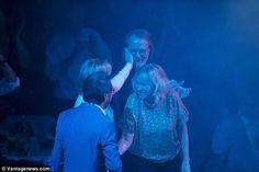 ABBA together... Frida and Benny.... soooo sweet