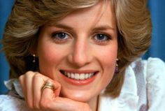 February 1, 1983: Princess Diana in an official photo taken at Kensington Palace to mark the forthcoming visit to Australia and New Zealand