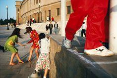 Alex Webb SPAIN. Barcelona. 1992. Magnum Photos Photographer Portfolio