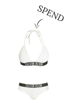 Spend VS Save: The Best Swimwear Trends This Spring Summer 2017 Summer Wedding, Wedding Beach, Best Swimwear, Wedding Bridesmaids, Wedding Trends, Slogan, Beachwear, Calvin Klein, Swimsuits