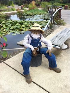 Scarecrows in the Garden -- Visit The Oregon Garden in October to see 30+ scarecrows displayed throughout the Garden, created by area schools, families, artists and local businesses. Visitors can also vote on their favorite for the Best in Show award. Garden admission charged.