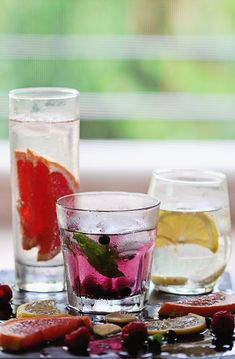 3 Vitamin-Infused Water Recipes