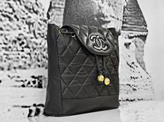 Archival Chanel Quilted Leather Backpack