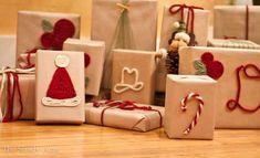 Christmas Crafts to Use Up Extra Yarn - Sewrella Christmas Gift Wrapping, Diy Christmas Gifts, Holiday Crafts, Holiday Fun, Christmas Time, Christmas Decorations, Holiday Movies, Santa Gifts, Christmas Ideas