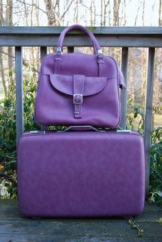 Purple Luggage