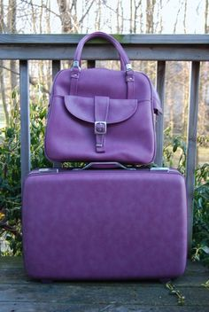 Purple Luggage