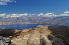 Beautiful view on Albania from Pantokrator mountain on Corfu Island :)