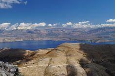 Beautiful view on Albania from Pantokrator mountain on Corfu Island :)