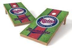 Minnesota Twins Single Cornhole Board - Field