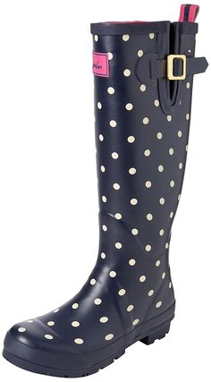 Joules Women's Field Welly Rain Boot *** Discover this special product, click the image : Boots Shoes