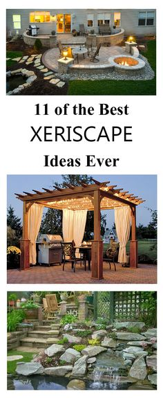Landscaping does not have to be dull and boring in order to conserve water. Xeriscape does not mean ZERO-scape. Anything but! Here are some if the best xeriscape ideas.